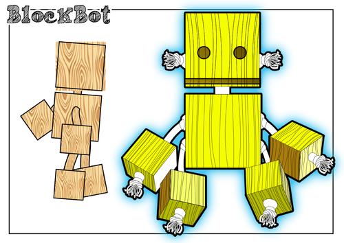 Block Bot Designing