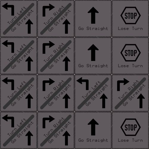 Dungeon Directions - ESL Directions Board Game