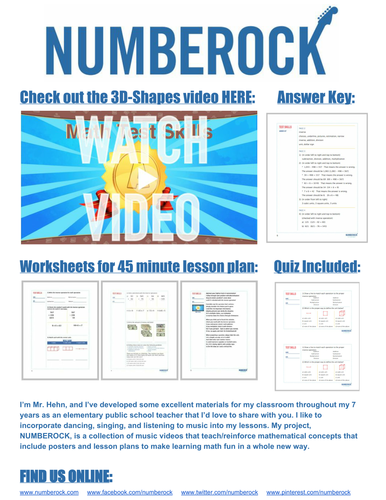 NUMBEROCK by Mr Hehn - Teaching Resources - TES