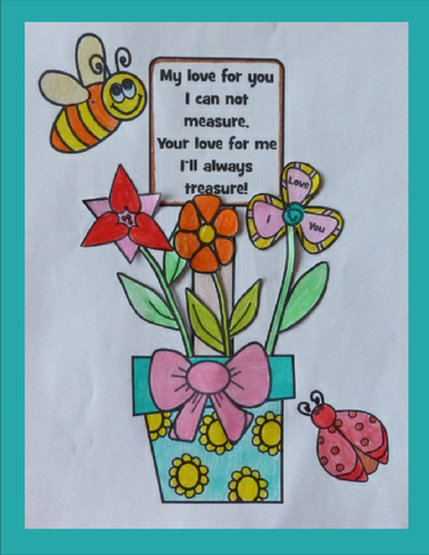 Mother S Day Crafts Flower Pot Creation For Mom By Artsy Crafter