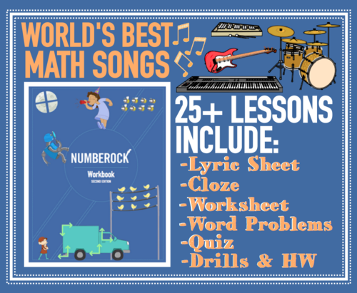 NUMBEROCK Workbook [Save over 50% compared to individual worksheets!]