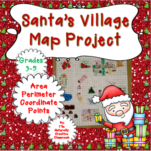 Santa's Village Christmas Map Project