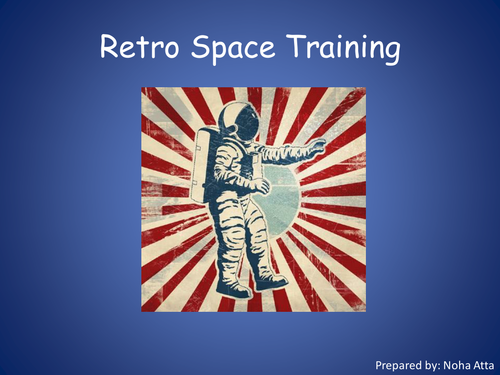 Retro Space Training/Astronauts/Moon Landing