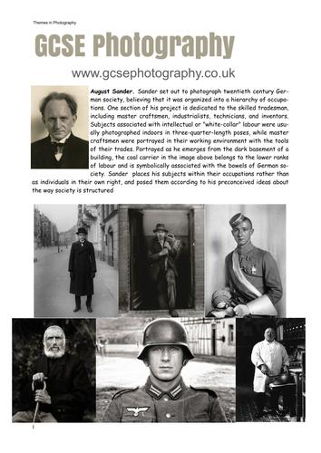 August Sander - Photographer