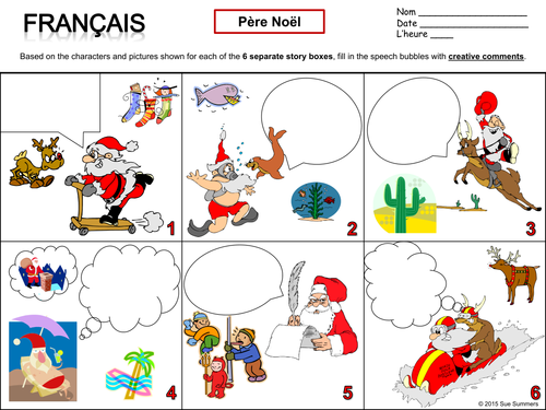 french christmas and pere noel writing activity by suesummersshop teaching resources tes. Black Bedroom Furniture Sets. Home Design Ideas