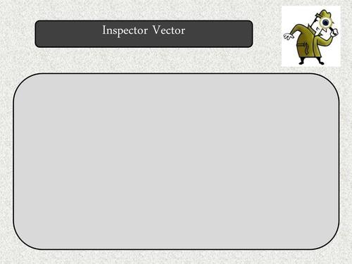 Inspector Vector - Solve a crime using 2D and 3D vectors