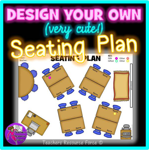 visual seating plan template