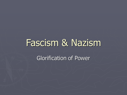 Fascism and Nazism