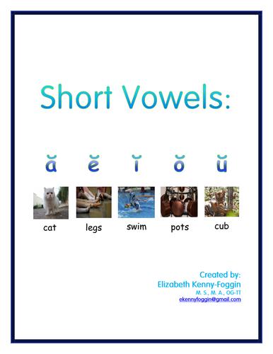 Know the Code: Short Vowels Bundle (a, e, i, o, u)