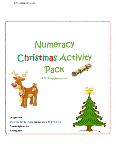 Christmas Activity Pack - Maths and Numeracy