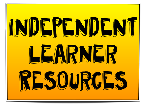 Independent learners display