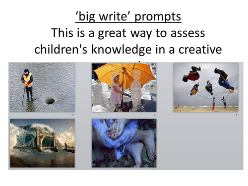 Prompts for story writing ks2 maths