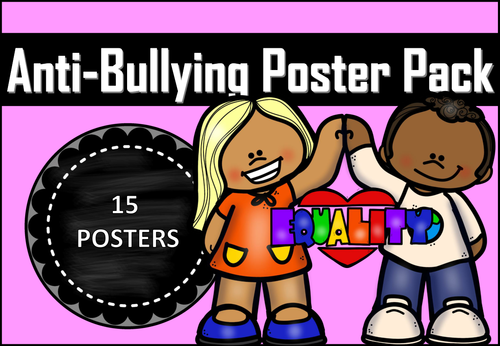 Anti-Bullying Posters Pack 2