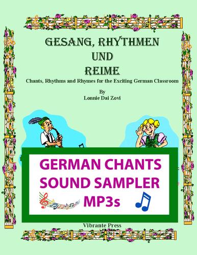 Gesang, Rhythmen und Reime - German Chants    SHORT SAMPLE MUSIC Sound bites