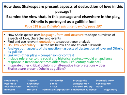how does shakespeare present disturbed characters