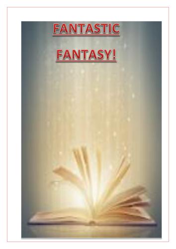 Fantastic Fantasy-Study guide and Workbook