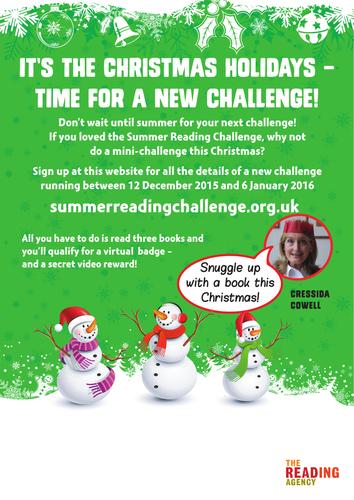 Christmas Reading Challenge 2015