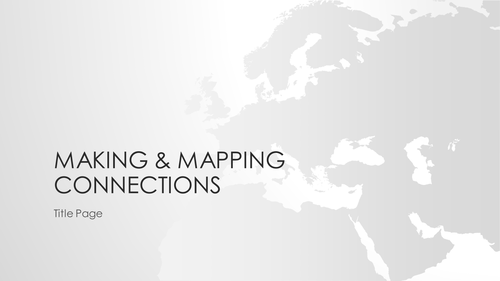 Making & Mapping Connections
