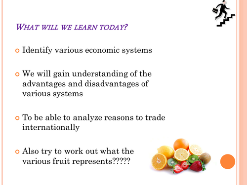 Introduction to market, mixed and planned economy