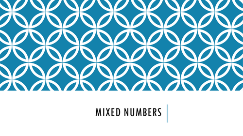 Adding and subtracting mixed numbers lesson by jgould-robbins ...