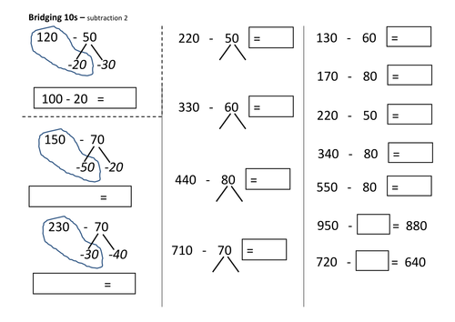 Addition Worksheets : addition worksheets bridging 10 Addition ...