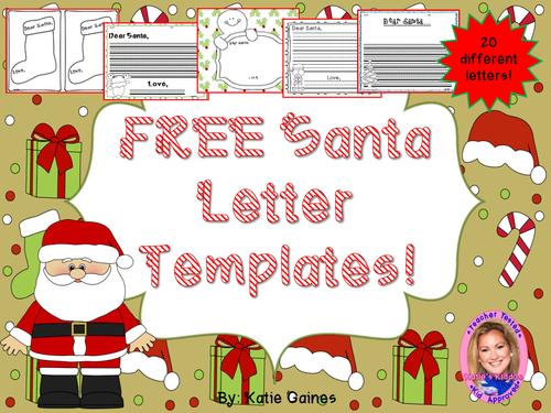 FREE Santa Letter Templates!