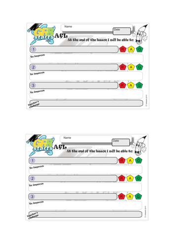 Self-Assessment Template, engaging and fun.