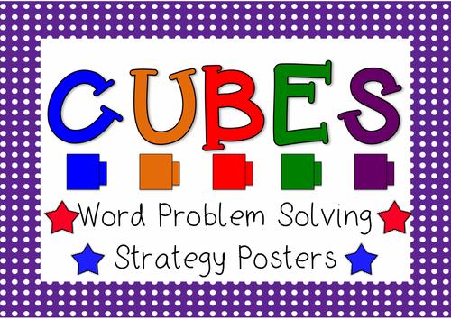 Solving math word problems strategies