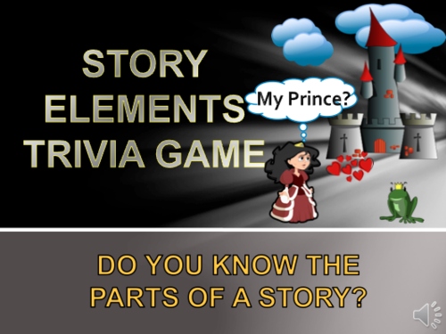 Story Elements Trivia Game: Plot, Theme, Setting and More!