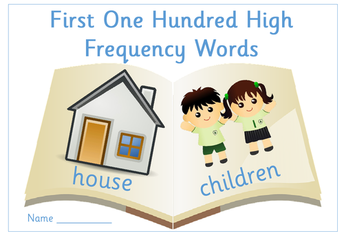 Set of 10 Spelling Practice Worksheets on First One Hundred High ...