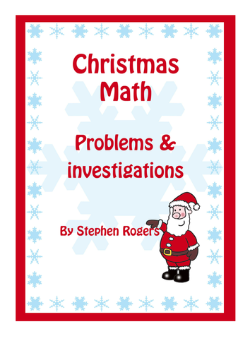 christmas maths puzzles and problems year 1 year 2 year. Black Bedroom Furniture Sets. Home Design Ideas