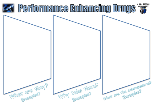 Performance Enhancing Drugs and Steroids