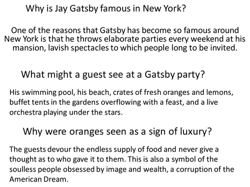 A Gatsby Party