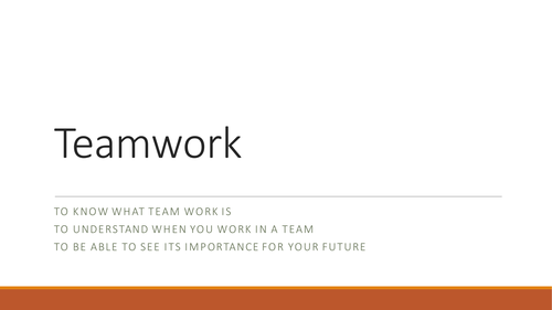Teamwork PSHE by thisisgeography Teaching Resources Tes – Teamwork Worksheets