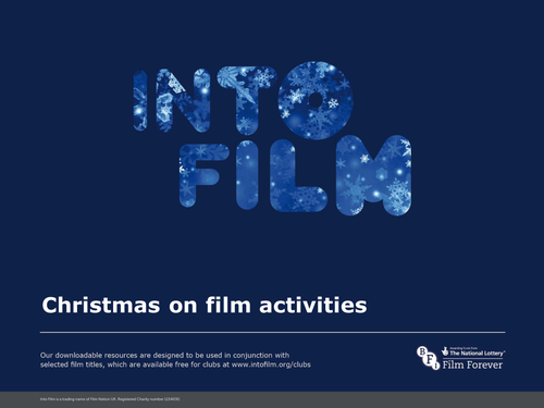 Christmas on Film activities