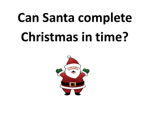 Can Santa complete Christmas?