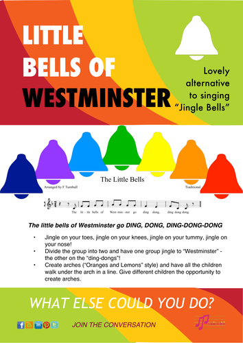 Little Bells: song with actions and extension ideas