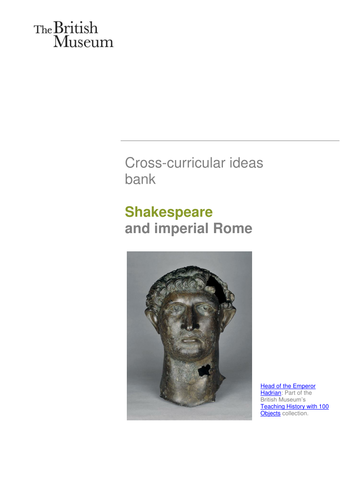 Shakespeare and imperial Rome
