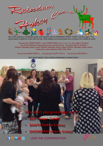 Reindeer Hokey-Cokey: song with actions and extension ideas