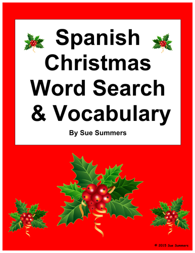 my holiday essay - in spanish