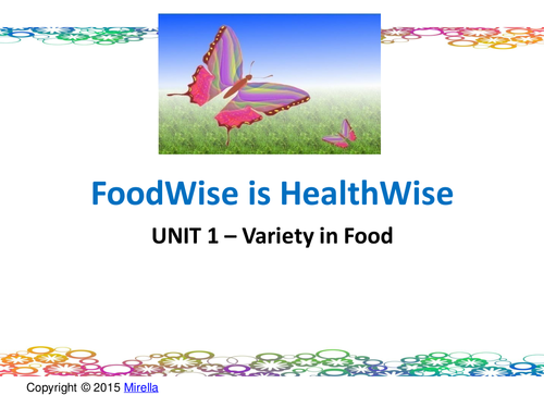 CHRISTMAS & NEW YEAR Food & Health COMBO OFFER: Variety in Food Presentation WITH QUIZ/ FLASH CARDS