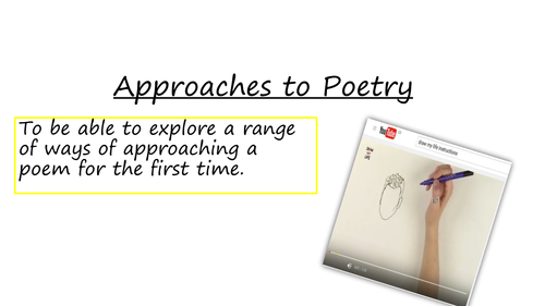 AQA English Unseen poetry preparation (Power and Conflict)