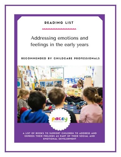 Reading list - addressing emotions and feelings in the early years