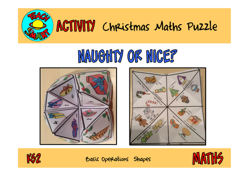 Christmas Maths Puzzle