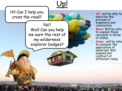 Disney's Up! Expansion and Contraction