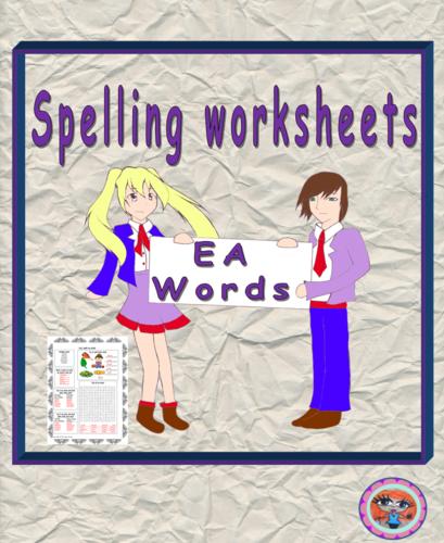 Teaching Spellings  EA words