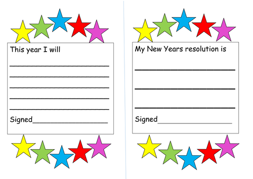 New years resolution sheets by misstallulah teaching resources new years resolution sheets by misstallulah teaching resources tes voltagebd