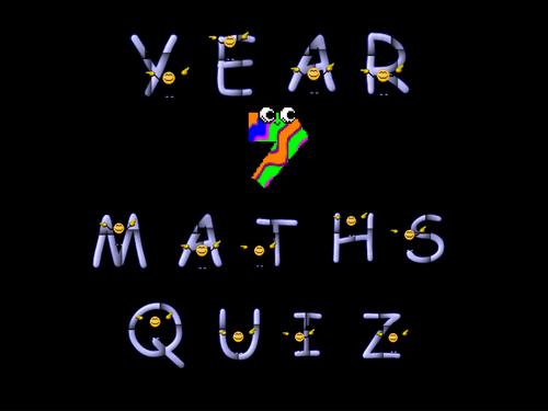 Low Ability Maths Quiz