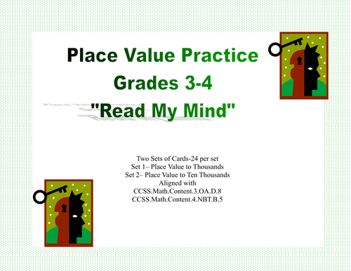 Second Grade Math Practice Task Cards Place Value To 99 2