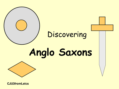 Discovering Anglo Saxons